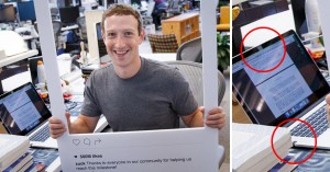 mark zuckerberg copre webcam